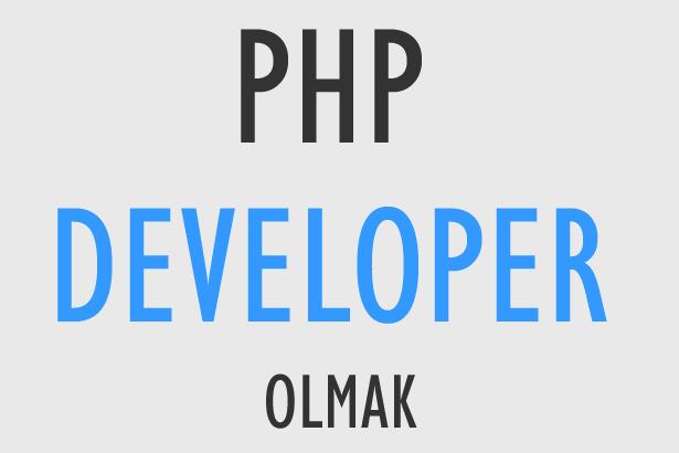 php developer olmak